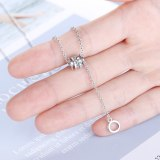 INS Necklace Female Diamond Simple Short Chunky Necklace Zxn511