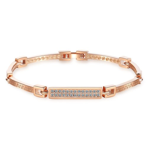 Bracelet Women's Japanese-Style Korean-Style Simple Diamond Set Bracelet Ins Strap Bracelet Zxb173