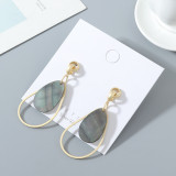 Fashion Popular Hollow S925 Silver Pin Earrings ps142635