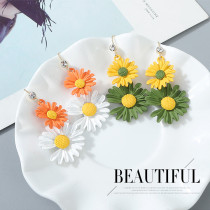Fashionable personality small chrysanthemum pop earrings ps142673