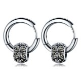 Japanese and Korean-Style Cool Hip Hop Ear Stud Stainless Steel Fashion Nightclub Ear Stud Men's Earrings Gb556