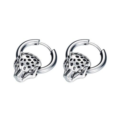 2020 New Korean Style Ear Stud Fashion Earrings Stylish Cool Ornament Titanium Steel Men's Simple Ear Stud Hoop Earrings Gb597