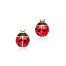 New Fashion Wild Beetle Ear Stud Cute Playful Girl Ear Stud Hot Popular Personality Jewelry 85497