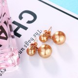 Earrings Ornament Women's Fashion Simple Atmosphere Imitation Pearl Earrings All-match Gift 087092