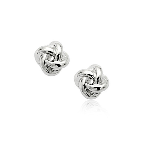 Fashion All-match Stud Earring Simple Interlaced Smooth Alloy Earrings Trendy Earring Jewelry  81013
