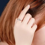 S925 Sterling Silver Ring 2020 New Zircon Ring Female Korean Fashion Small Jewelry Mlk799