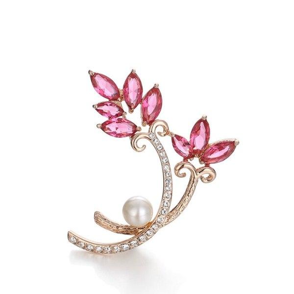 Ornament Brooch Women's Fashion All-match AAA Zircon Corsage Korean-Style Cool Pin 154361
