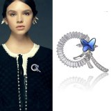 Brooch Women's Korean-Style Simple Imitation Crystal Ornament Brooch Pin Suit Jacket Gift 850094
