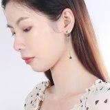 Vintage Earrings Women's Korean-Style Hipster Five-Pointed Star Tassel Long Ear Jewelry  Xzeh557
