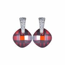 Double Turtle Crystal Stud Earrings AAA Zircon Inlaid Stud Earring Fashion Atmosphere Earring Jewelry Qxwe462