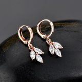 Simple AAA Zircon Ear Clip Hot Selling Earrings Korean Fashion Stud Earrings Jewelry Qxwe746