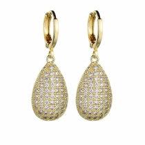 Korean Style Earrings AAA Ruby Earrings Ear Stud Elegant Ear Pendant Female  Stud Earrings Qxwe792