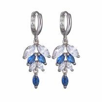 Fashion Zircon Earrings AAA Zircon Inlaid  Stud Earrings Classic Jewelry Qxwe162