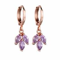 Simple AAA Zircon Ear Clip Hot Selling Earrings Korean Fashion Stud Earrings Jewelry Qxwe746
