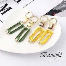 Women's Korean-Style U-Shaped Lettered Earrings 925 Silver Stud Earrings Zircon Ear Jewelry 138711