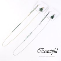European Exaggerated Creative Hanging Earrings Fashion Cool Exta-Long Pearl Earrings Female S925 Silver Needle 140352