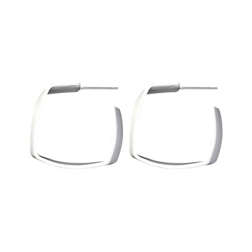 New European and American Exaggerated Square Earrings Elegant Stud Earrings S925 Anti-Allergy Earrings 138851