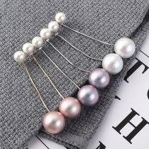 Korean-Style Elegant Pearl Earrings Women's All-match Long Tassel Ear Stud Anti-Allergy S925 Silver Needle Ear Stud 139840