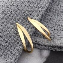 European Metal Earrings Women's All-match Fashion Banana C- Shaped Stud Earrings 925 Sterling Silver Earrings 139878