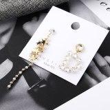 European and American Fashion Temperament Tassel Earrings Female Asymmetric Little Star Stud Earrings Anti-Allergy 138997
