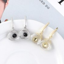 European and American New Fashion Simple Earrings Female Eyelid Earrings Sterling Silver Stud Earrings 138821