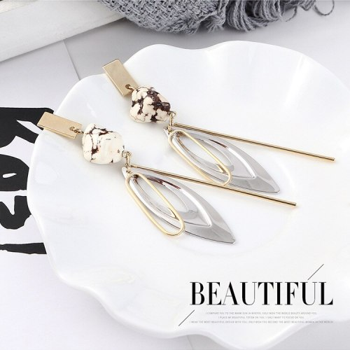 S925 Silver Needle Earrings European New Creative Fashion Tassel Earrings Female All-match Cool Earrings Wholesale 139543
