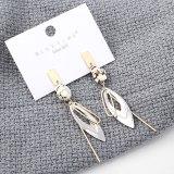 S925 Silver Needle Earrings European New Creative Fashion Tassel Earrings Female All-match Cool Earrings Wholesale 139543