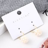 European and American Simple Elegant Natural Pearl Earrings Female All-match Ear Stud Small Jewelry Wholesale 139554
