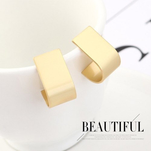 Simple Hipster Digital 6 Whistle Earrings Women's All-match 925 Silver Needle Stud Earrings 140138