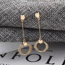 S925 Sterling Silver Needle Stud Earrings Korean Elegant Fashion Lovely Tassel Earrings Female Ring Ear Rings 138959