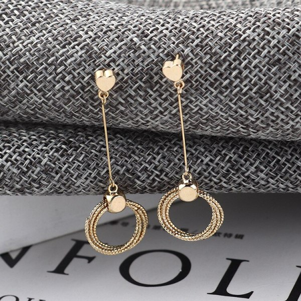 S925 Sterling Silver Needle Stud Earrings Korean Elegant Fashion Lovely Tassel Earrings Female Ring Ear Rings 138959