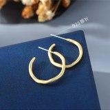 New Creative Earrings Fashion All-match S925 Silver Needle Stud Earrings Jewelry B-4881