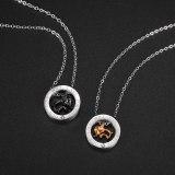 Han Feng Versatile Elephant Lovers Titanium Steel Necklace Personality Trend Men and Women Pendant Gb1729