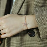 2020 New Starfish Ocean Series Creative Ladies Diamond Bracelet Accessories Wholesale Gb1002