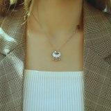Korean Pendant Titanium Steel Necklace Female Clavicle Chain Jewelry Simple Temperament Neck Chain Gb1719