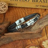European and American New Personalized Cross Bracelet Fashion Trendy Men's Retro Versatile Bracelet Gb1422