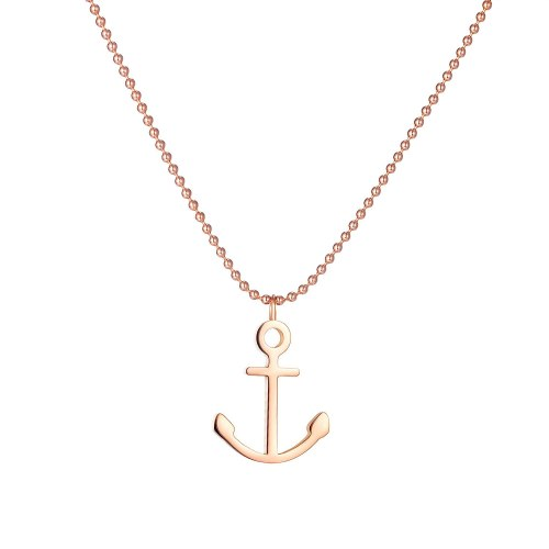 European and American Retro Jewelry Personality Creative Anchor Pirate Series Clavicle Chain Necklace Gb1762