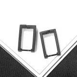 Korean Version of Simple Temperament Studs Geometry Titanium Steel Personality Men's Earrings Earrings Wholesale Gb633