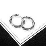 Stainless Steel Earrings Fashion Personality Sunflower Daisy Titanium Steel Men's Stud Earrings Earrings Wholesale Gb640