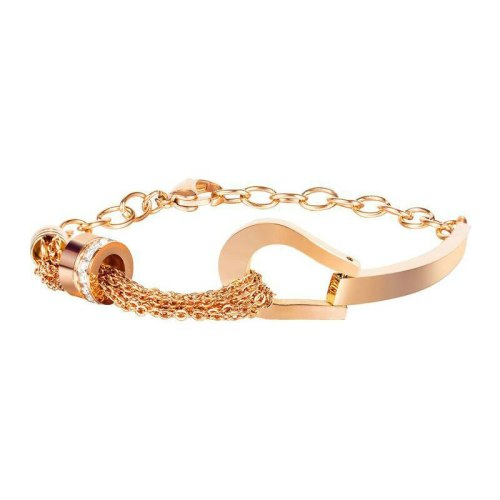 2020 Trend Joker Jewelry Female Rose Gold Titanium Steel Cylinder Diamond Bracelet Gb1108