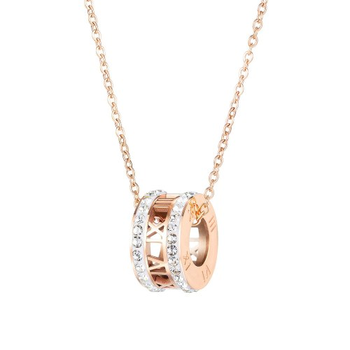 Han Version Fashion Titanium Necklace Women Simple Design Collarbone Chain Pendant Jewelry Gb1672