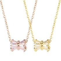 Korean Version of Ins Minimalist Sen System Small Waist Titanium Steel Collarbone Necklace Female Gb001