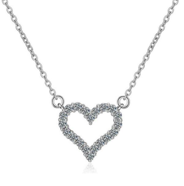 520 Valentine's Day hot sale necklace creative love pendant woman clavicle chain