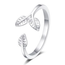 Ring Nesson Sweet Twig Opening Ring Budding Ring Leaf Ring Ring Ring Ring JZ332