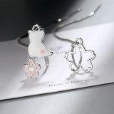 Long Earrings Temperament Asymmetric Earrings Cat Earrings Flower Earrings Female Xzheh568