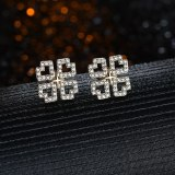 925 Silver Stud Earrings 2020 New Korean Version of Simple Love Earrings Temperament Retro Earrings QxWE1545