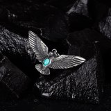 European and American Style Men's Titanium Steel Eagle Wings Pendant Personalized Stainless Steel Jewelry Wholesale Gb1844
