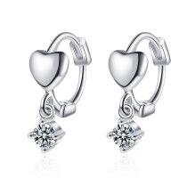 Love Ear Buckle Short Earrings High Quality Earrings Sweet Earrings 2020 New Earrings Female XzEH578