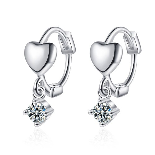 Love Ear Buckle Short Earrings High Quality Earrings Sweet Earrings 2020 New Earrings Female XzEH578