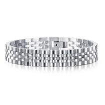 Gold Simple Fashion Personality Men's Titanium Steel Bracelet Fashion Watch Chain Accessories Wholesale Gb1126
